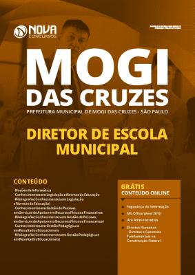 Apostila Prefeitura de Mogi das Cruzes 2020 PDF Diretor de Escola