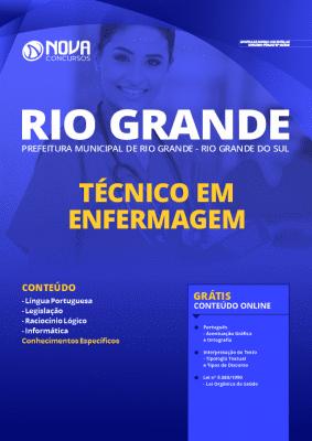 Apostila Prefeitura de Rio Grande 2020 PDF Técnico em Enfermagem