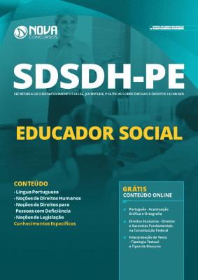 Apostila Prefeitura do Recife 2020 PDF Educador Social