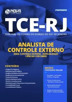 Apostila TCE RJ 2020 PDF Download Analista em Ciências Contábeis