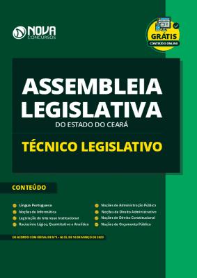 Apostila Concurso Assembleia Legislativa CE 2020 PDF Técnico Legislativo