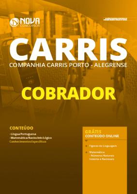 Apostila Concurso CARRIS 2020 PDF Download Cobrador Grátis Cursos Online