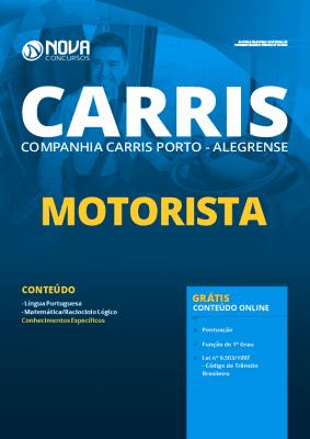 Apostila Concurso CARRIS 2020 PDF Download Motorista Grátis Cursos Online