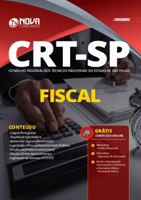Apostila Concurso CRT SP 2020 PDF Fiscal PDF Download Digital