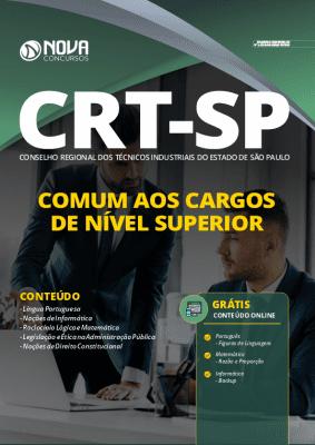 Apostila CRT SP 2020 PDF Download Cargos de Nível Superior