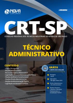 Apostila Concurso CRT SP 2020 PDF Técnico Administrativo