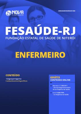 Apostila Concurso FeSaúde Niterói RJ 2020 PDF Enfermeiro