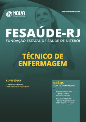 Apostila Concurso FeSaúde 2020 PDF Técnico de Enfermagem