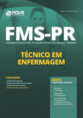 Apostila Concurso Fundação Municipal de Saúde de Foz do Iguaçu 2020 PDF Técnico em Enfermagem