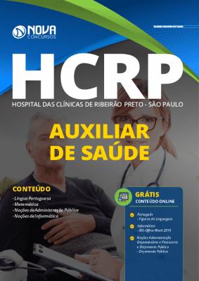 AApostila Concurso Hospital das Clínicas de Ribeirão Preto 2020 PDF Download Auxiliar de Saúde