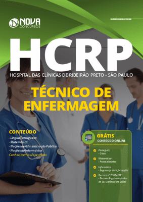 Apostila Concurso Hospital das Clínicas de Ribeirão Preto 2020 PDF Técnico de Enfermagem