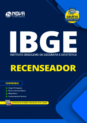 Apostila Concurso IBGE 2020 PDF Recenseador PDF Download