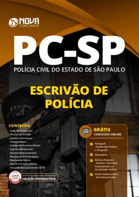 Apostila Concurso PC SP 2020 PDF Escrivão de Polícia