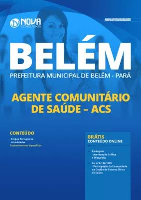 Apostila Concurso Prefeitura de Belém 2020 PDF Agente Comunitário de Saúde