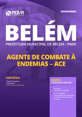 Apostila Concurso Prefeitura de Belém 2020 PDF Agente de Combate às Endemias