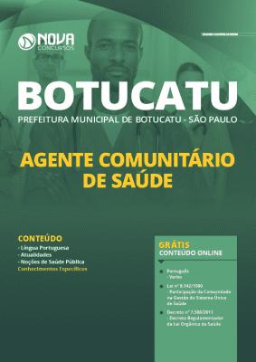 Apostila Concurso Prefeitura de Botucatu 2020 PDF Agente Comunitário de Saúde