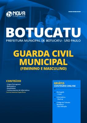 Apostila Concurso Prefeitura de Botucatu 2020 PDF Guarda Civil Municipal