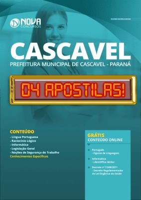Apostila Concurso Prefeitura de Cascavel 2020 PDF Grátis Cursos Online
