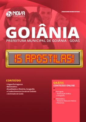 Apostila Concurso Prefeitura de Goiânia 2020 PDF Download