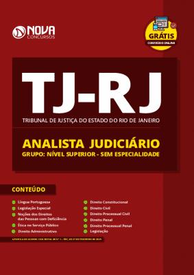 Apostila Concurso TJ RJ 2020 PDF Analista Judiciário Sem Especialidade PDF Download