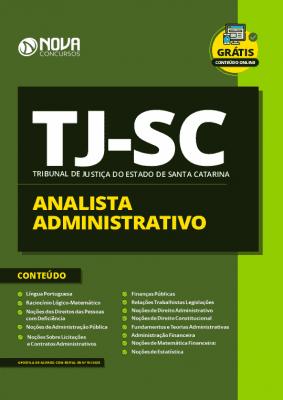 Apostila Concurso TJ SC 2020 PDF Analista Administrativo