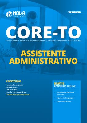 Apostila Concurso CORE TO 2020 PDF Assistente Administrativo