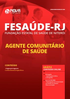 Apostila Concurso FeSaúde Niterói RJ 2020 PDF Download Digital e Impressa Agente Comunitário de Saúde