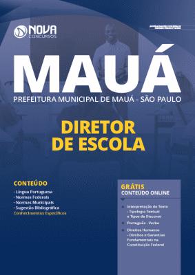 Apostila Prefeitura de Mauá SP 2020 PDF Diretor de Escola