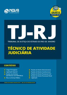 Apostila TJ RJ Técnico Judiciário 2020 PDF Grátis Cursos Online
