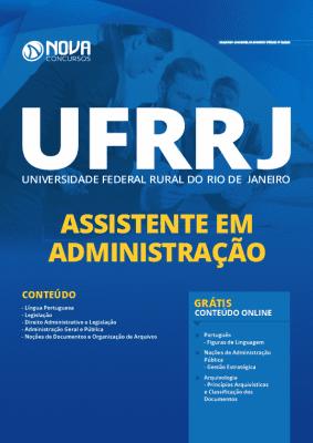 Apostila Concurso UFRRJ 2020 PDF Assistente em Administração
