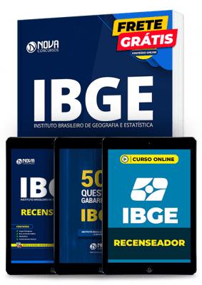 Recenseador do IBGE 2020: Kit de Estudos Completo