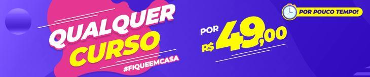 Promoção Todos os Cursos Online por Só R$ 49,00!