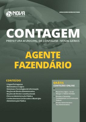 Apostila Concurso Prefeitura de Contagem MG 2020 PDF Agente Fazendário