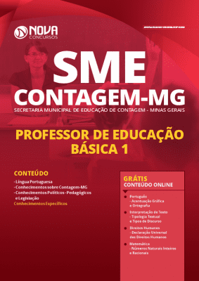 Apostila Concurso SME Contagem MG 2020 PDF Download Digital Professor