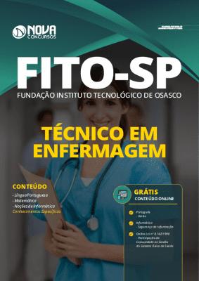 Apostila Concurso FITO Osasco 2020 PDF Técnico em Enfermagem