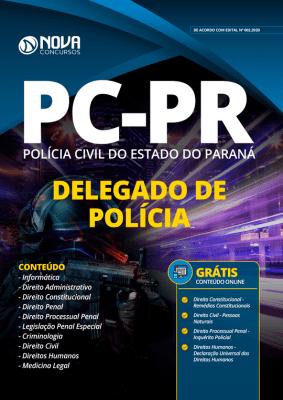 Apostila PC PR 2020 PDF Delegado de Polícia Download PDF Grátis Cursos Online