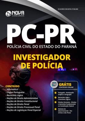 Apostila PC PR 2020 PDF Download Investigador de Polícia PDF Grátis Cursos Online