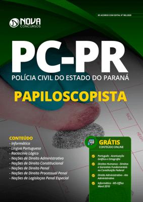 Apostila PC PR 2020 PDF Papiloscopista PDF Download Digital