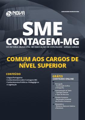Apostila Concurso SME Contagem MG 2020 PDF Nível Superior