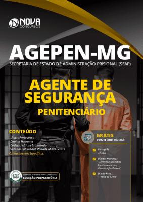 Apostila Concurso AGEPEN MG 2020 PDF Agente de Segurança Penitenciário PDF Download Digital