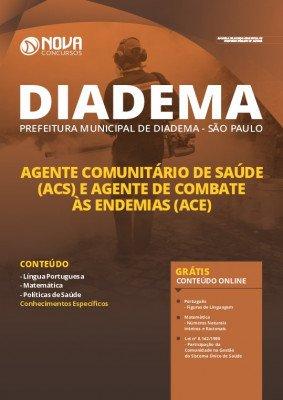Apostila Concurso Prefeitura de Diadema 2020 PDF Agente Comunitário de Saúde e Agente de Combate às Endemias PDF Download Digital