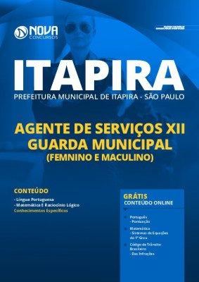 Apostila Prefeitura de Itapira SP 2020 PDF Guarda Municipal PDF Download Digital