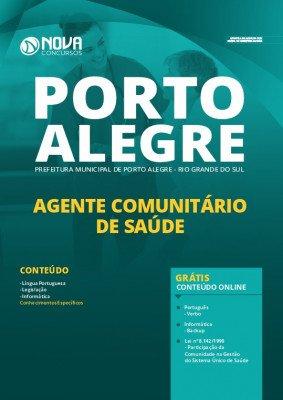 Apostila Concurso Prefeitura de Porto Alegre 2020 PDF Agente Comunitário de Saúde