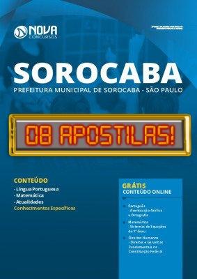 Apostila Concurso Prefeitura de Sorocaba 2020 PDF Download Digital