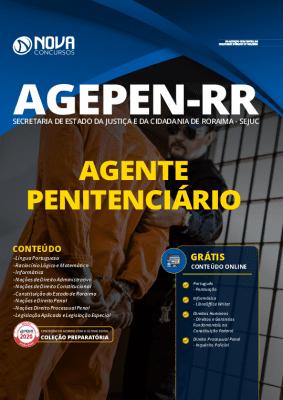 Apostila Concurso AGEPEN RR 2020 PDF Agente Penitenciário