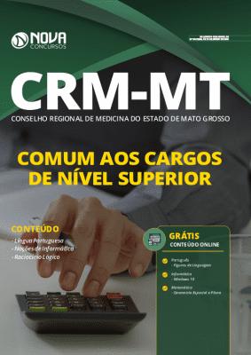 Apostila Concurso CRM MT 2020 PDF Cargos de Nível Superior Download PDF Grátis Cursos Online