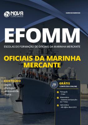 Apostila Concurso EFOMM 2020 PDF Grátis Cursos Online
