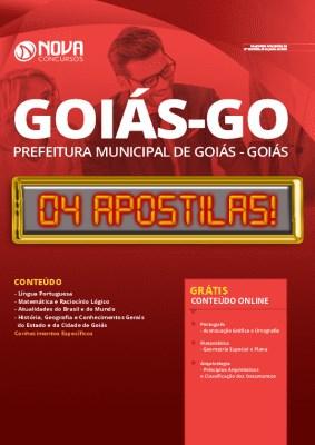Apostila Concurso Prefeitura de Goiás 2020 PDF Grátis Cursos Online
