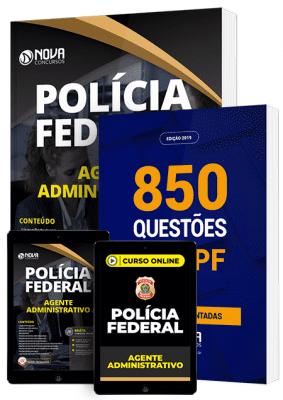 Apostila PF Agente Administrativo 2020 PDF Grátis Cursos Online