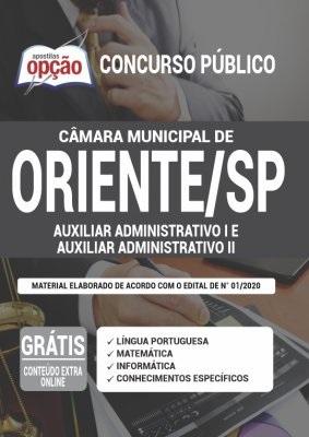 Apostila Câmara de Oriente SP 2020 PDF Download Digital
